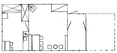 Seterhuset - planskisse