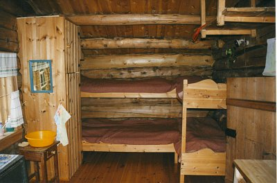 Seterhuset soveplasser kjøkken