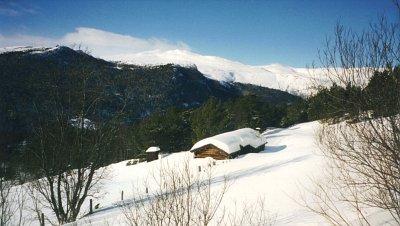 Seterhuset vinter